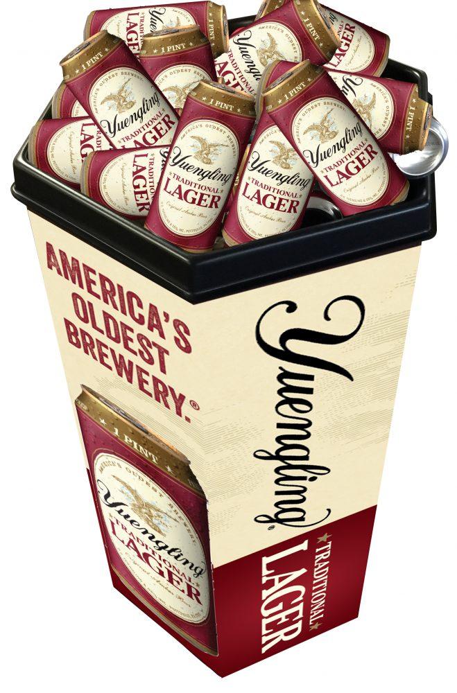 Beer Store Custom Branded Dump Bin