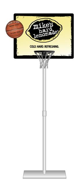 Basketball Hoop Retail Display