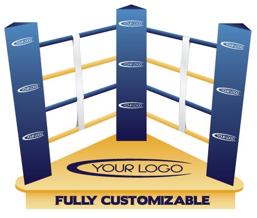 Custom Boxing Retail Display