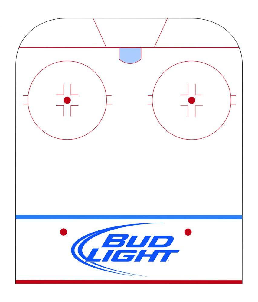 Hockey Rink Floor Signage