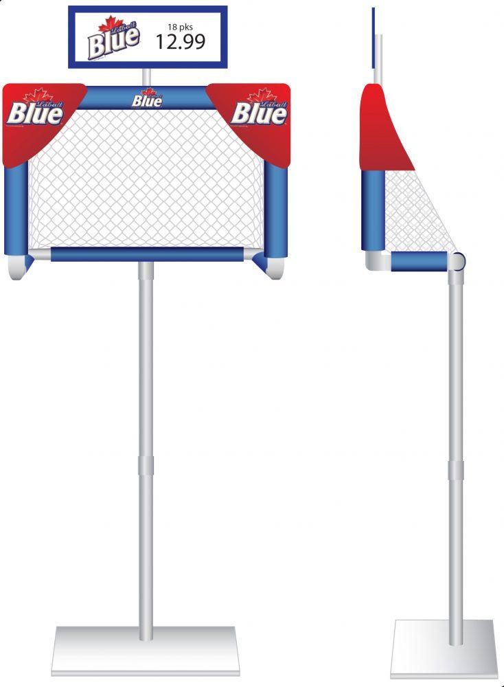 Unique Hockey Themed Displays