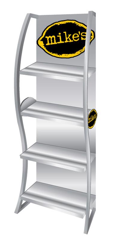 Custom Retail Display Rack